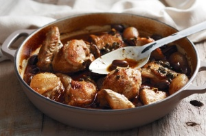 Herb and Sherry Braised Chicken