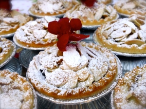 Mixed Berry Almond Tarts