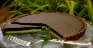 Chocolate & Mint Tart