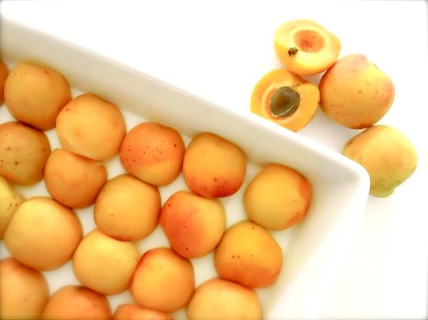 Apricot & passion Fruit Clafoutis