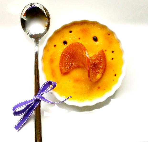 Orange Cream Brulee