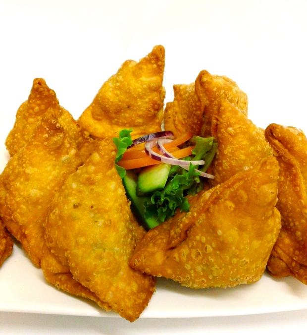 Crispy Spicy Samosa