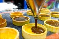 Mandarine Jam topped with ganache