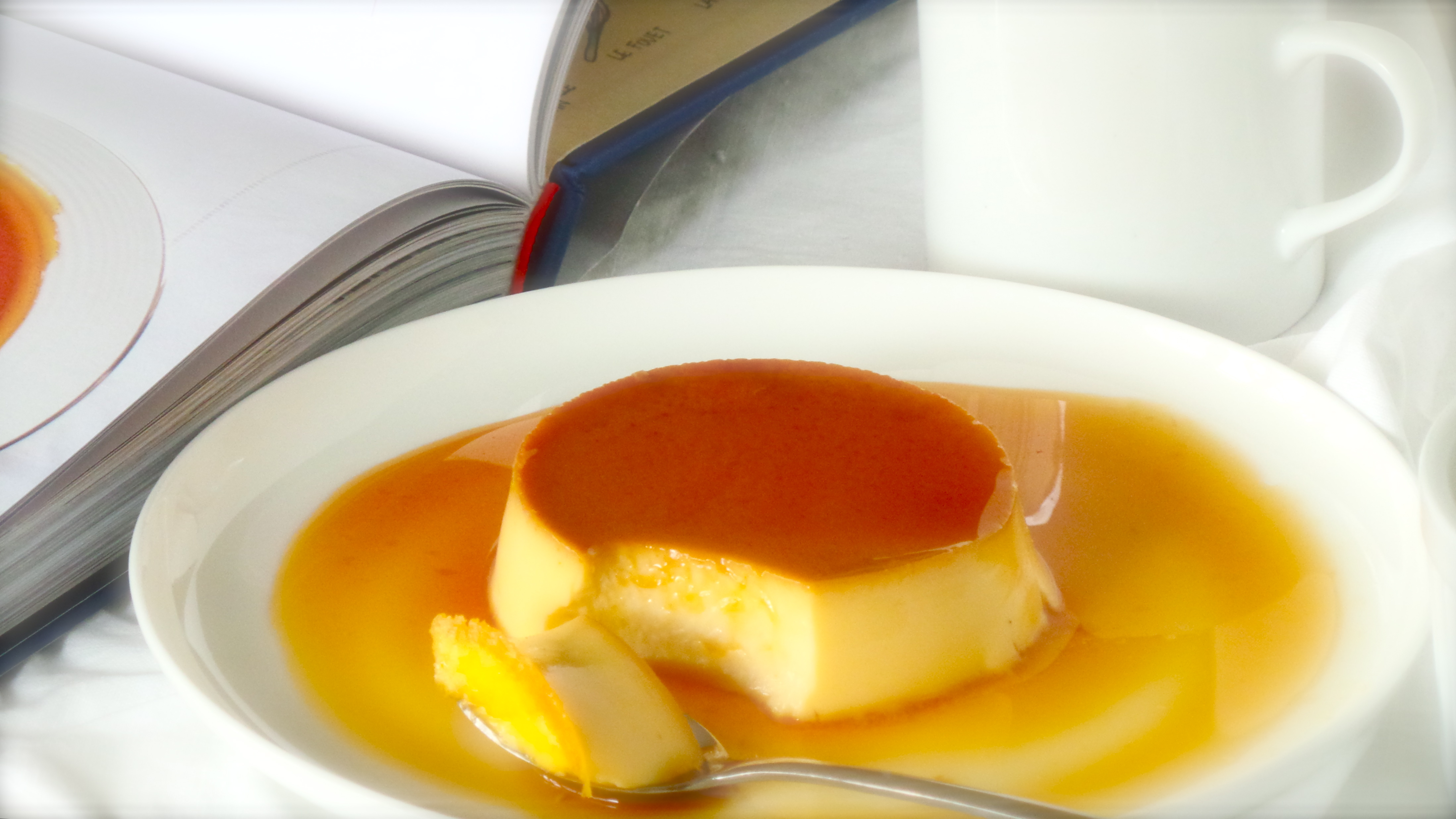 Mary Berry's Classic Creme Caramel – Step by Step – Food from ...